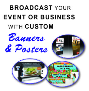 Posters and Banners | Full Color Posters and Banners