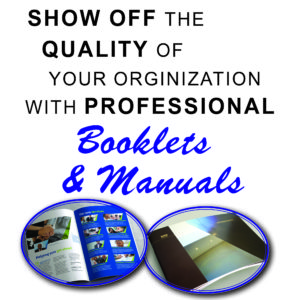 Full Color Booklets & Manuals