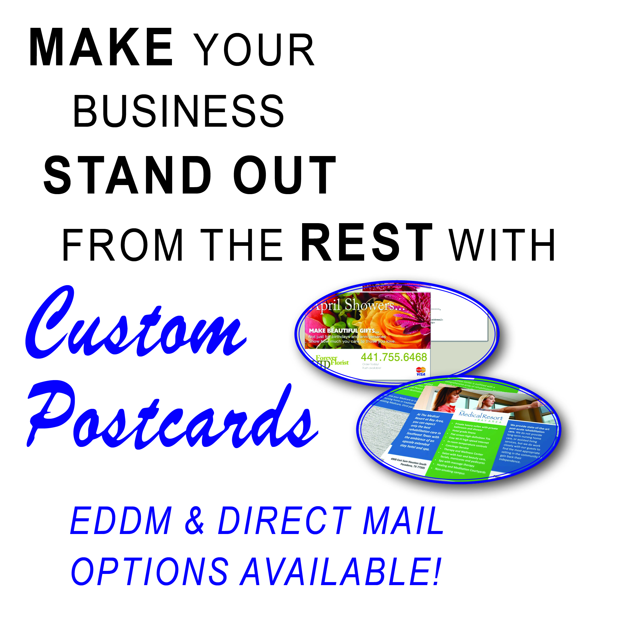Full Color Postcards | EDDM and Direct Mailing